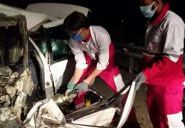 وقوع حادثه جاده ای با ۱۴ مصدوم و فوتی در محور ریگان – ایرانشهر