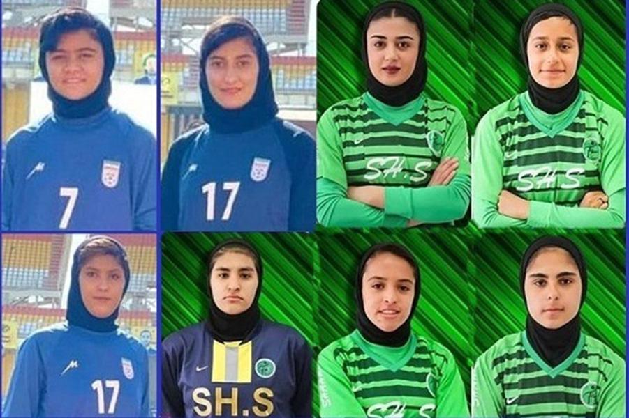 راه یابی ۸ دانش آموز دختر کرمانی از شهرستان سیرجان به تیم ملی فوتبال نوجوانان و جوانان