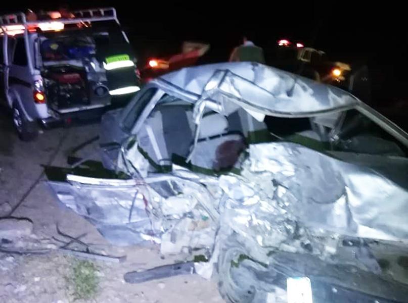 هشت کشته و مجروح در تصادف محور «کرمان-کوهپایه»