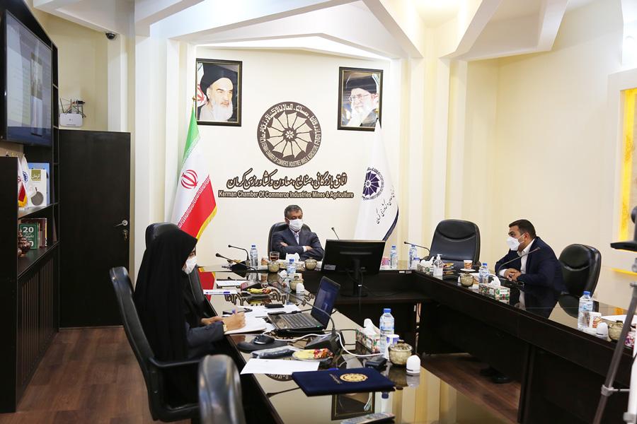 رئیس اتاق کرمان: اصلاح حکمرانی در بخش انرژی را پیگیری می کنیم